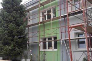 Rekonštrukcia obecného úradu Malinová