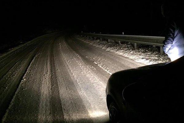 Sneh bol na Jahodnej už po deviatej večer.