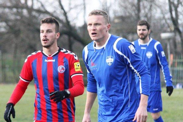 Petr Trapp hral proti Senici polčas ako defenzívny stredopoliar ako polčas na poste stopéra.