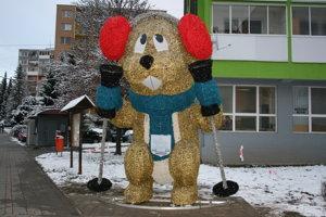 Svišť tatranský v Krompachoch