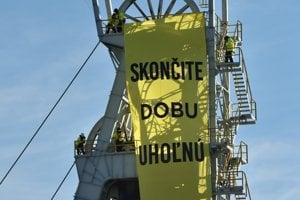 Greenpeace protest označil za nenásilný.