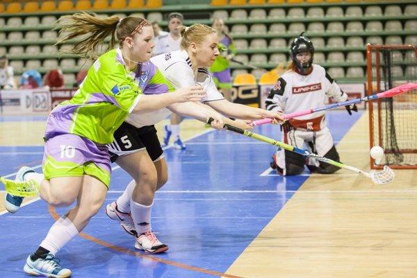 Vľavo Miriam Baštiová z tímu Nitry.
