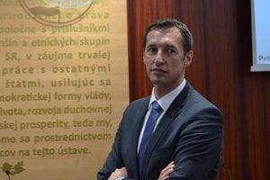 Na snímke predseda PSK Milan Majerský.
