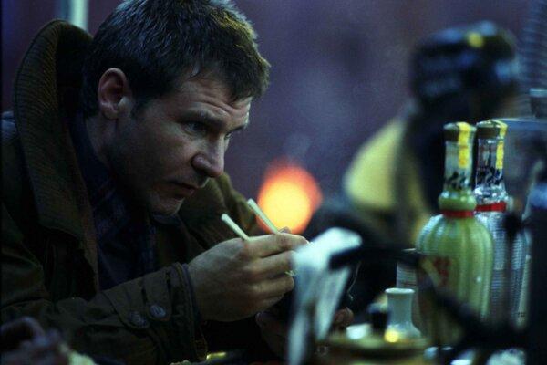 Harrison Ford vo filme Blade Runner.