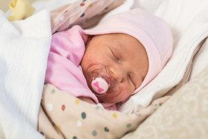 Paulínka Pilatová (3440 g, 49 cm) sa narodila 20. novembra Kristíne a Milanovi zo Starej Turej. Doma už majú 4,5-ročnú Olíviu.