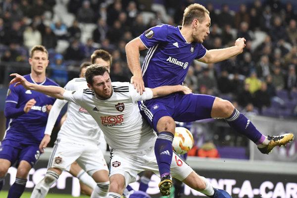 Súboj Anderlecht - Trnava víťaza nenašiel.