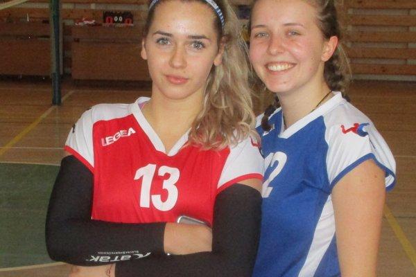 Dve najskúsenejšie. Tamara Vetráková (vľavo) a Tamara Števková.