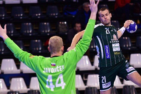 Tomáš Číp zápas s Topoľčanmi nedokončil pre zranenie.