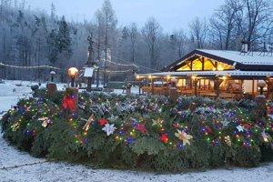 Adventný veniec v Tatranskej Lomnici