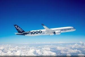 5. Airbus A350-100 sa predáva za 366,5 milióna eur.