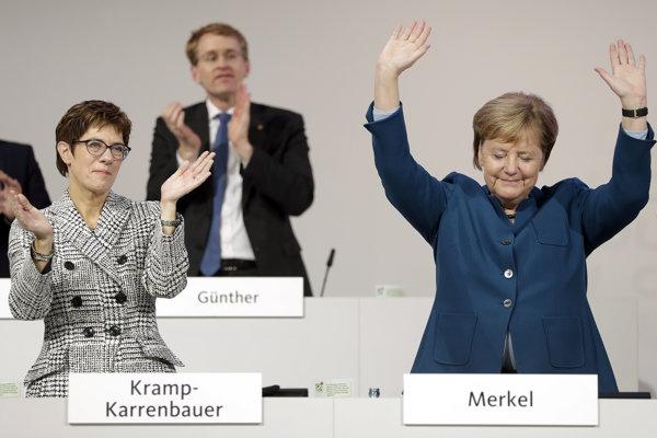Merkelovú na čele CDU nahradí Kramp-Karrenbauerová.