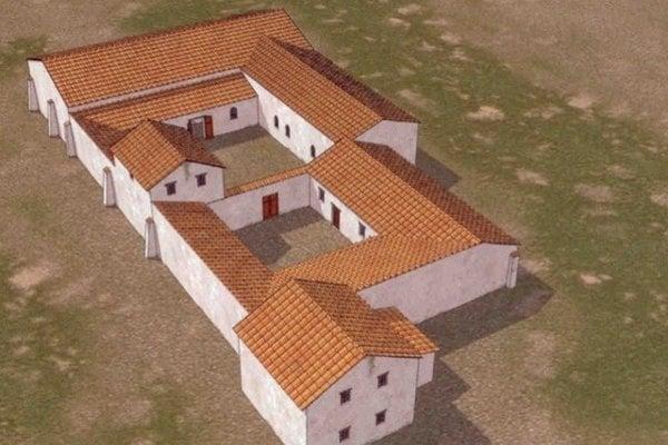 Rímska stanica nad Stupavou.