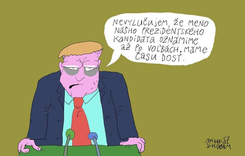 Až po voľbách (Sliacky) 9. december