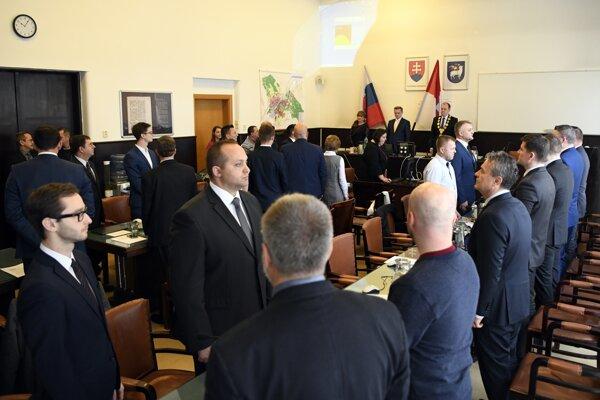 Trenčianske mestské zastupiteľstvo, december 2018.