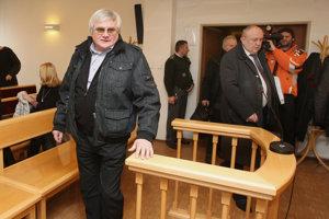 Igor Šajgal na jednom zo súdnych pojednávaní.