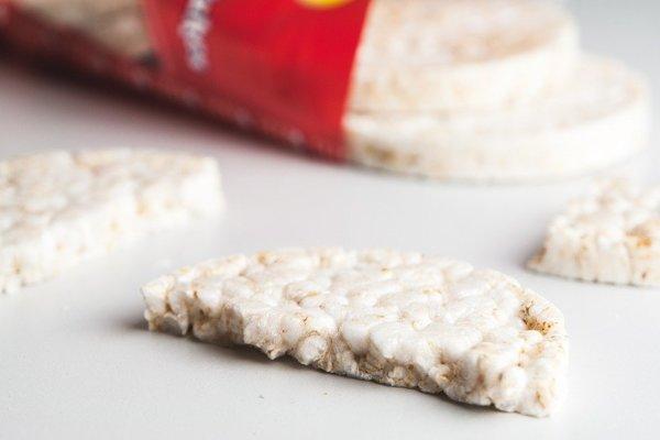 Ryžové chlebíky bez prímesí sú výhodné najmä pri bezlepkovej diéte.