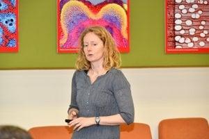 Matematička Katarína Boďová si v pondelok prebrala cenu Ludmily Sedlárovej-Rabanovej za genetiku.