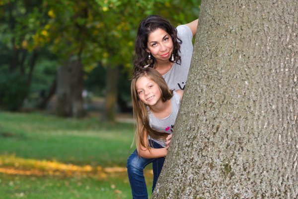 Ivett Pavlis s dcérou Leilou