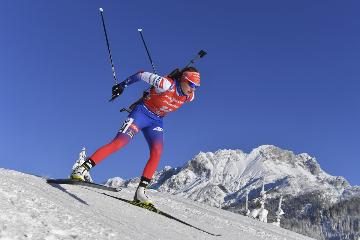 Paulína Fialková bola druhá v stíhačke v Hochfilzene - sport.sme.sk 8343afe1a6