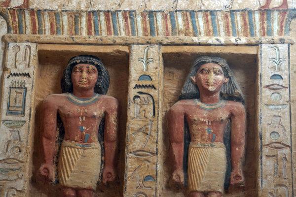 Hrobka významného kňaza, ktorú objavili južne od Káhiry.