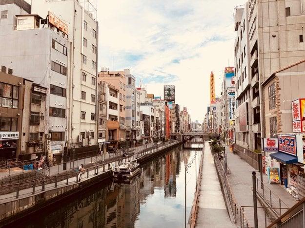 Dontonbori, najpopulárnejšia štvrť Osaky