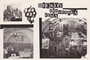 Kúria Beckov  v minulosti