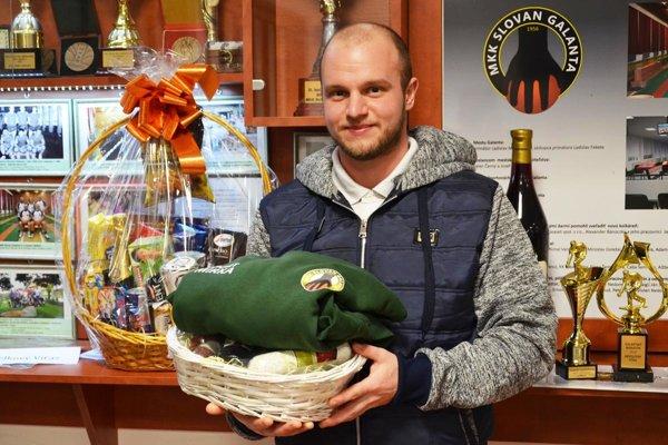 Tibor Varga zo Zlatých Klasov, víťaz kolkárskeho maratónu medzi jednotlivcami.