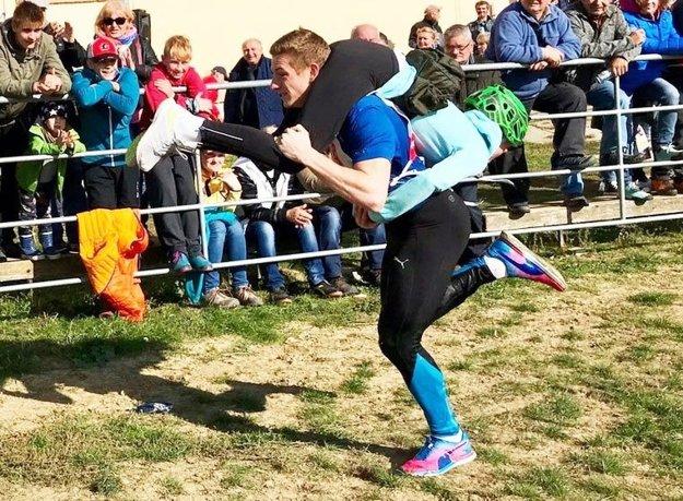 Na M-SR v behu so ženou na Malom Lapáši sa zúčastnil aj slovenský šprintér Ján Volko.