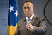 Kosovský premiér Ramush Haradinaj.