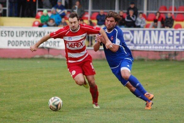 Z domáceho zápasu Tatrana sBardejovom ešte vjesennej časti minulej sezóny.