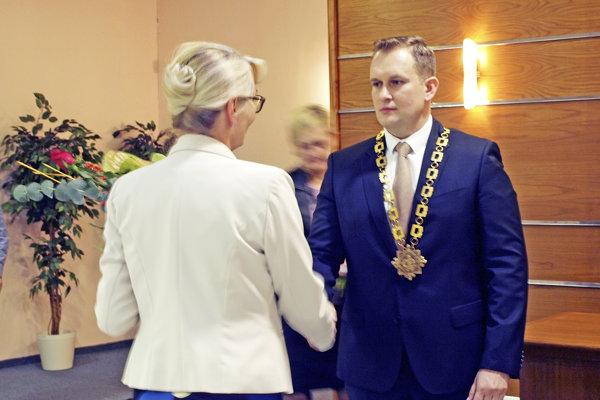 Džačovskému zablahoželala aj prednostka.
