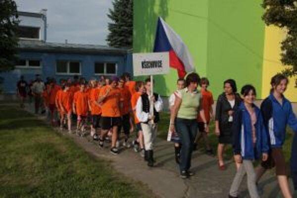 Na slávnostnom nástupe nechýbali ani nováčikovia Všechovice a Győr.