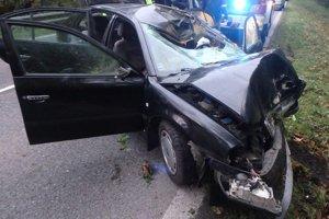 K dopravnej nehode došlo krátko pred piatou hodinou.