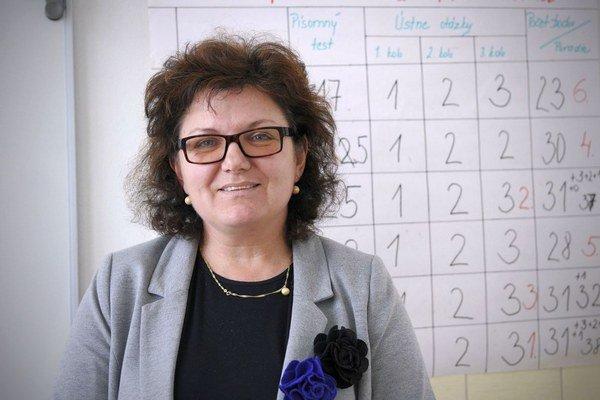 Riaditeľka Mária Rypáková hovorí, že v škole sa snažia reagovať na všetky aktivity a výzvy, o ktorých vedia, aby výchova detí v škole bola pestrá a reagovala na nové potreby vo vzdelávaní.