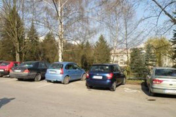 Parkovné miesta pred považskobystrickou nemocnicou, určené pre ZŤP, obsadia neraz vodiči, ktorí tam nemajú čo hľadať.