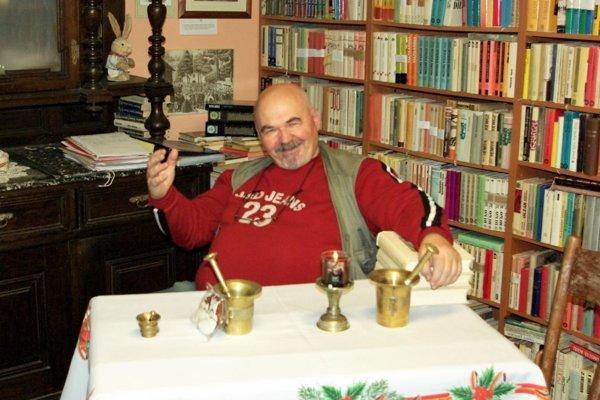 Jano Cíger z Medokýša je v Martine obľúbenou postavičkou.
