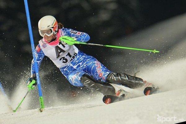 Slovenskú slalomárku Petru Vlhovú budú môcť fanúšikovia vidieť vmarci na trati vJasnej.