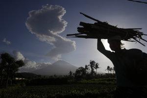 Sopka Agung.