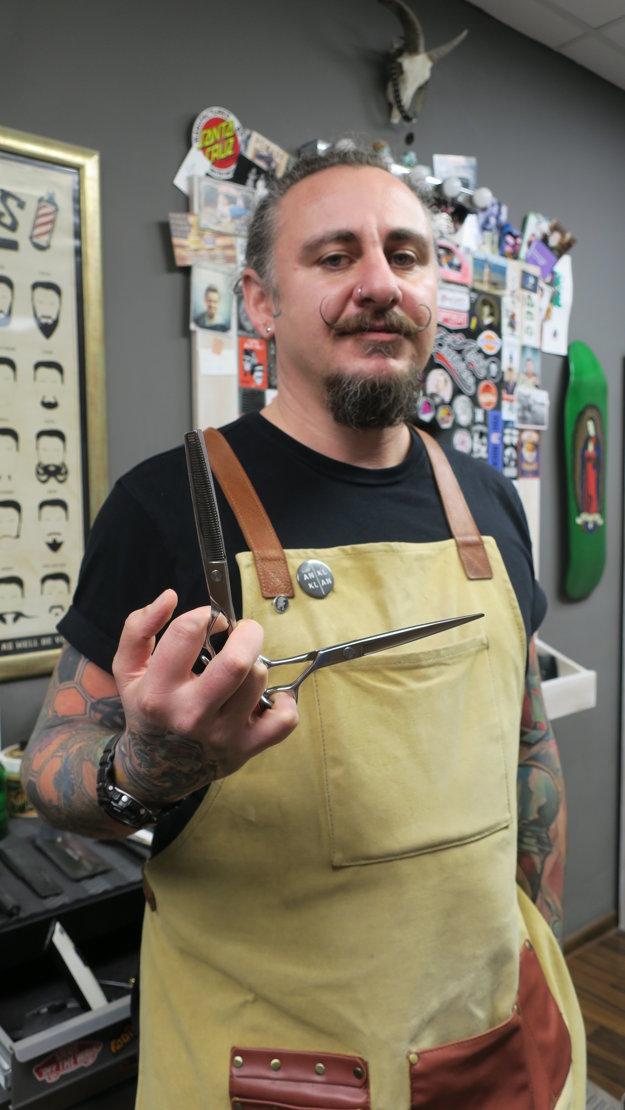 Barbiershop nie je iba o účesoch  a bradách, tvrdí Boškovski.