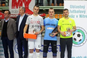 Patrik Sailer, Erik Géci, Marcel Kurej - hviezdy nedávno skončeného Moget Cupu.