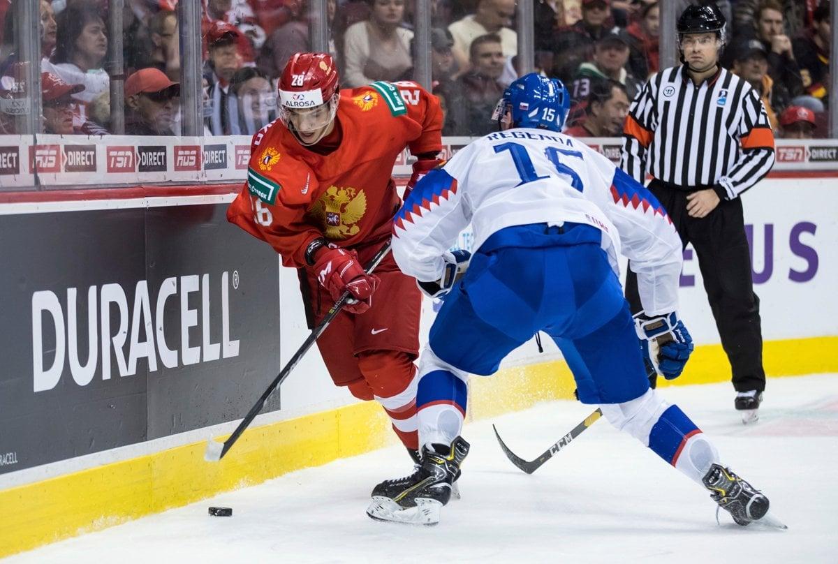 d806288496fac ONLINE Slovensko - Rusko (MS v hokeji do 20 rokov 2019) - Šport SME