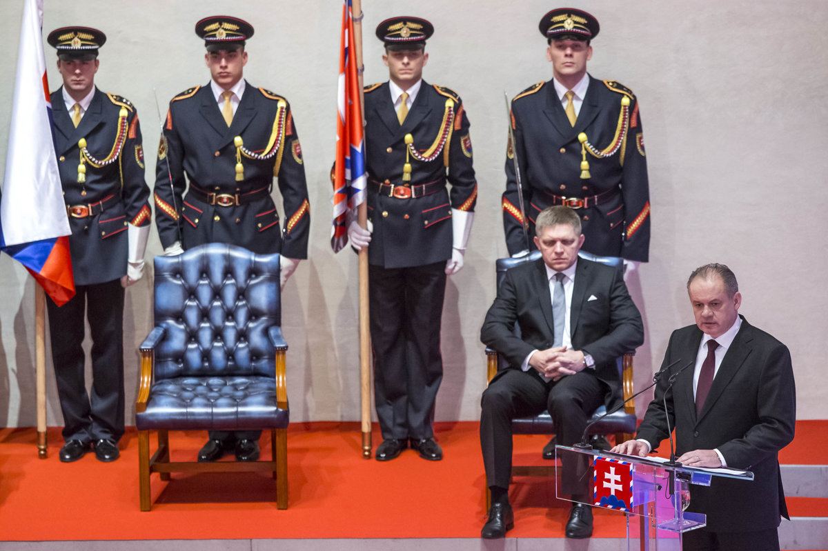 39d5d115fa01 Prezident Andrej Kiska výber vyznamenaných v minulosti rozladil expremiéra  Roberta Fica zo Smeru.