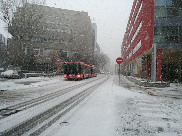 Cintorínska ulica v Bratislave.