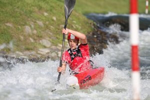 Jakub Grigar si v konečnom poradí kategórie K1 muži obsadil druhé miesto, a tak si vybojoval právo štartovať medzi seniormi.
