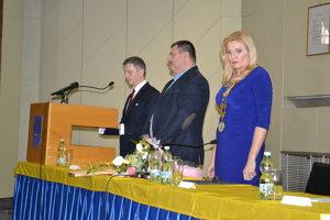 Výmena na primátorskom poste v Humennom z 10. decembra.