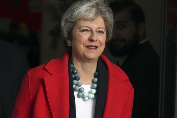 Premiérka Theresa Mayová druhé referendu, či úplné odvolanie brexitu odmieta.
