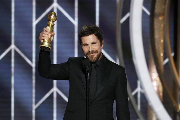 Christian Bale získal Zlatý glóbus za svoju rolu vo filme Vice.