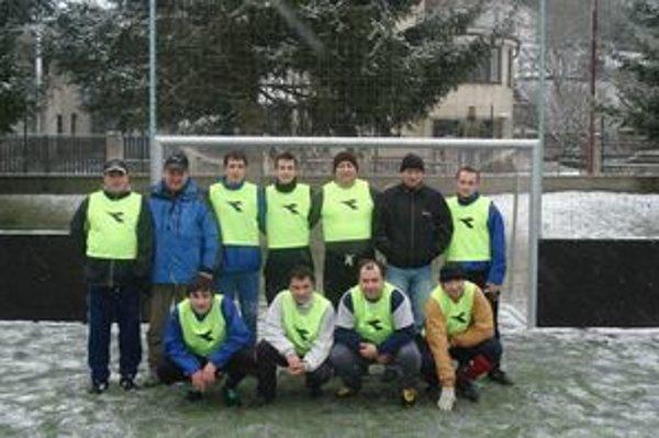 Víťazi obecnej ligy - FC Podvršie.