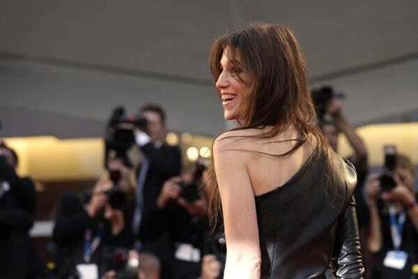 Charlotte Gainsbourg, herečka a speváčka.