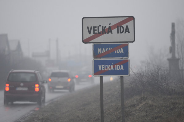 Pred smogom varujú už aj obyvateľov Veľkej Idy.